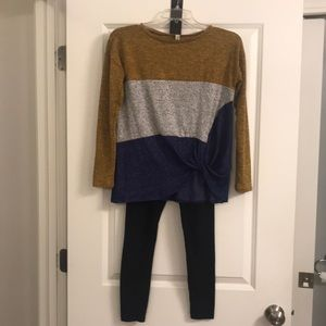 Girls size 12-14 legging outfit
